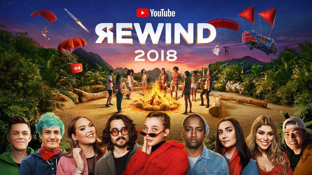 YouTube Rewind 2018: Everyone Controls the Rewind là video bị ghét nhất trên YouTube