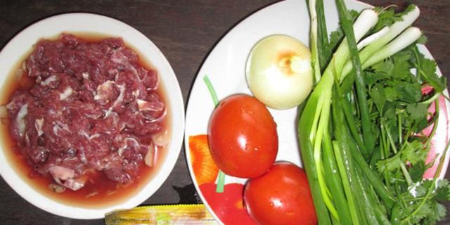 Thịt bò cà chua là món ăn tương sinh rất tốt. Ảnh minh họa.
