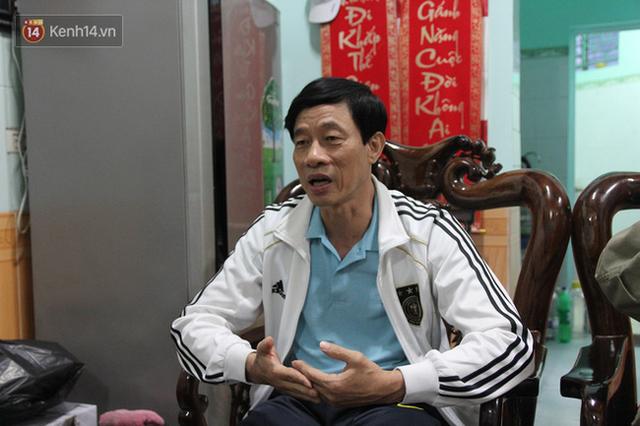 Chú Hùng (bố Quế Ngọc Hải) chia sẻ câu chuyện của con trai.