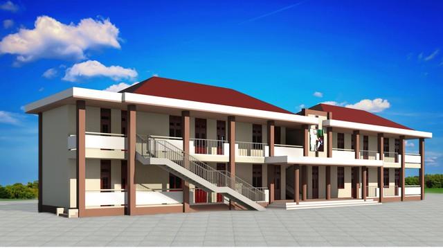 Trường Lê Thị Hồng Gấm dự kiến đi vào hoạt động vào năm học 2019