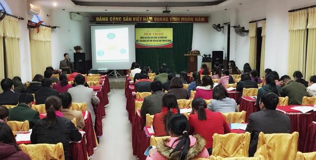 Đ/C Nguyễn Công Khanh - Chi cục trưởng Chi cục DS - KHHGĐ chủ trì Hội thảo