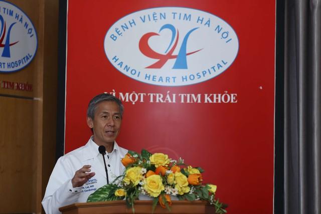 Bác sỹ Wyman Lai – Giám đốc chuyên môn của tổ chức MD1World phát biểu