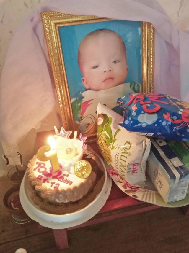 Quà sinh nhật cho bé Bảo Lâm đã ra đi.