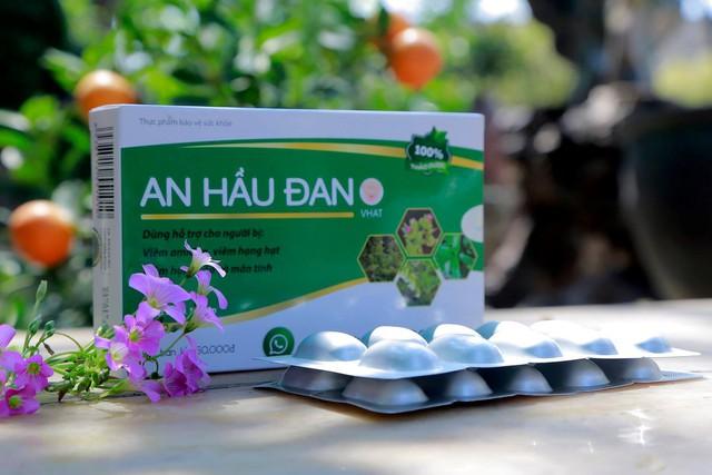 Sản phẩm An Hầu Đan hỗ trợ điều trị viêm Amidan cho cả gia đình