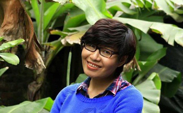 Nữ nhà báo Thu Trang cho biết chị lo cho sự an toàn của tiểu thương còn hơn chính mình. Ảnh: Soha
