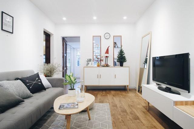 KTS quyết định làm mới căn hộ với tổng chi phí 100 triệu đồng, trong đó 55 triệu đồng cải tạo thô và 45 triệu cho nội thất.