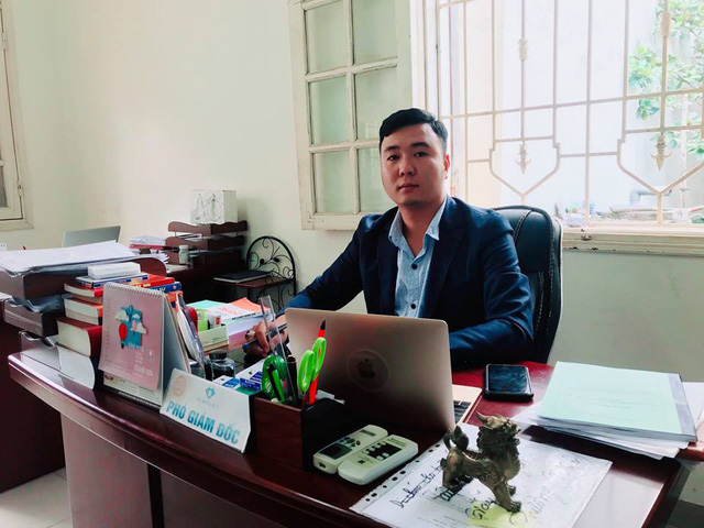 Thạc sỹ Luật học Vũ Tuấn, Công ty TNHH tư vấn Hưng Việt chia sẻ về vụ việc với PV. Ảnh: NĐ