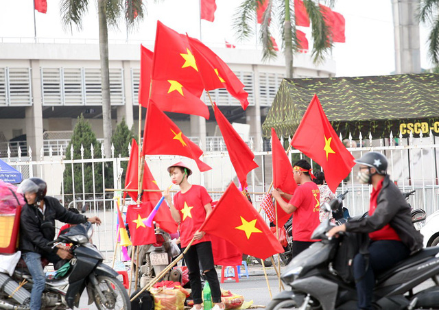 Rất nhiều người tự tin đội tuyển Việt Nam sẽ giành chiến thắng.