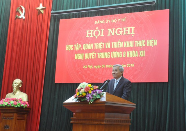 Tại Hội nghị, các đại biểu được nghe đồng chí Trần Hồng Hà, báo cáo viên cấp Trung ương, nguyên Phó Bí thư Đảng uỷ Khối các cơ quan Trung ương, truyền đạt một số nội dung quan trọng của Nghị quyết Hội nghị lần thứ 8 Ban Chấp hành Trung ương Đảng khóa XII.