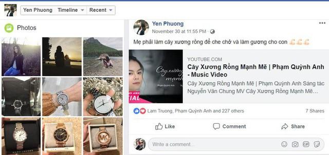 Không chỉ có vậy, Yến Phương còn chia sẻ một clip về hôn nhân có tựa đề: Hôn nhân là nấm mồ chôn sống tình yêu?.