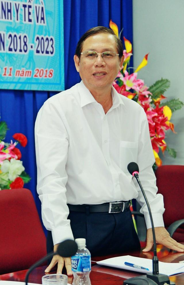 Ông Lê Minh Định - Giám đốc Sở Y tế tỉnh Ninh Thuận.