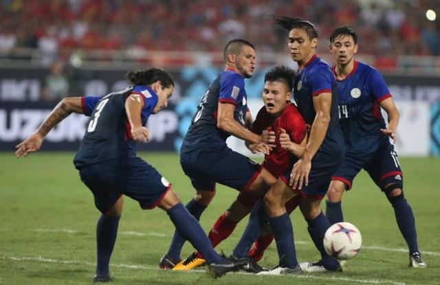 Quang Hải là tác giả bàn mở tỷ số cho Việt Nam trong một trận đấu mà anh và đồng đội đã chơi đầy cố gắng.