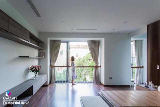 Ngoài ra thông tầng, khu vực vườn cây bậc thang và không gian master cũng là những không gian ấn tượng, hài hòa và hợp lý..