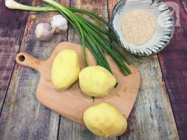Thêm một biến tấu ngon lạ cho món khoai tây chiên quen thuộc