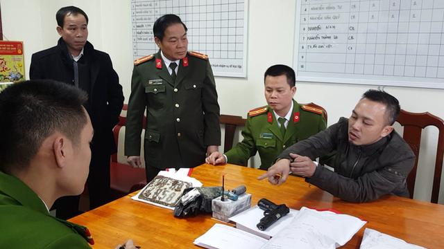 """Mẹ vợ nghi phạm cướp ngân hàng ở Bắc Giang nghĩ con rể """"đi buôn ô tô"""""""