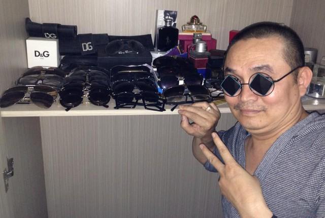 BST kính hàng hiệu của nghệ sĩ Xuân Hinh
