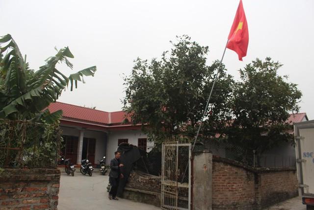 Căn nhà Đức Huy cùng người thân sinh sống tại thôn Đào Lâm, xã Đoàn Tùng. Ảnh: Đ.Tùy