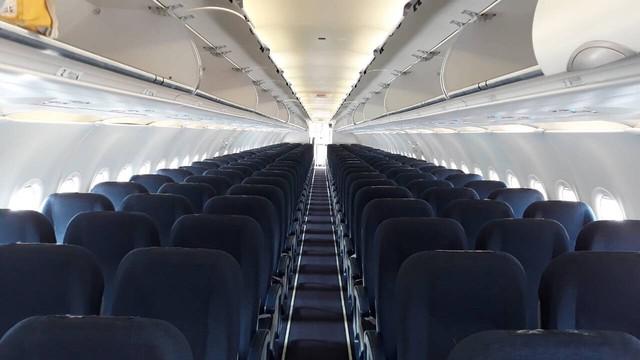 Nội thất của tàu bay mới.