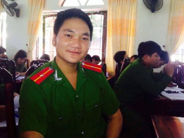 Chiến sỹ Lưu Minh Thức. Ảnh:TG