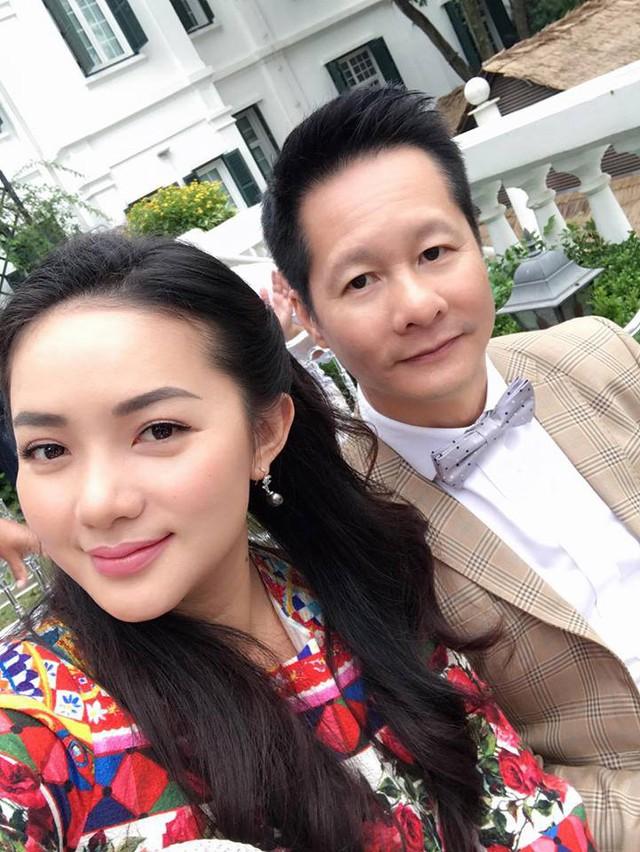 Phan Như Thảo và chồng đại gia thường đi chung với nhau, gắn kết như hình với bóng