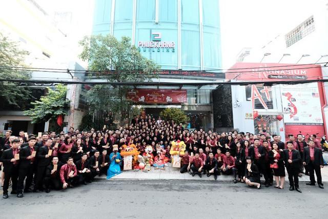 """Phuc Khang Coporation: Mừng tân niên """"Khai xuân hồng phát"""""""