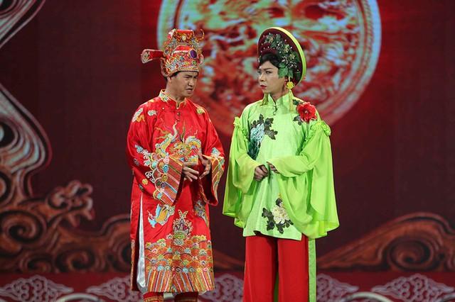 Nam Tào, Bắc Đẩu là hai vai diễn gây chú ý của Táo Quân