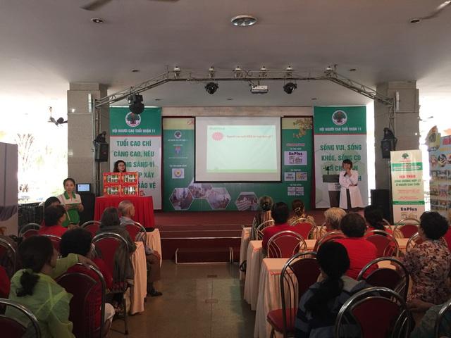 NutiFood tham gia chăm sóc sức khỏe cho người già tại TP.Hồ Chí Minh