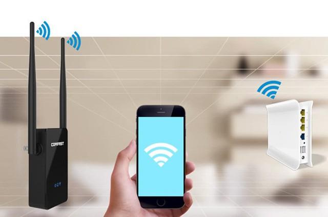 Nên đặt bộ phát Wi-Fi tại vị trí thông thoáng cho chất lượng kết nối tốt hơn.