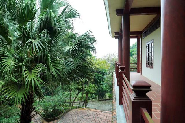 Căn nhà được thiết kế gần gũi với thiên nhiên.