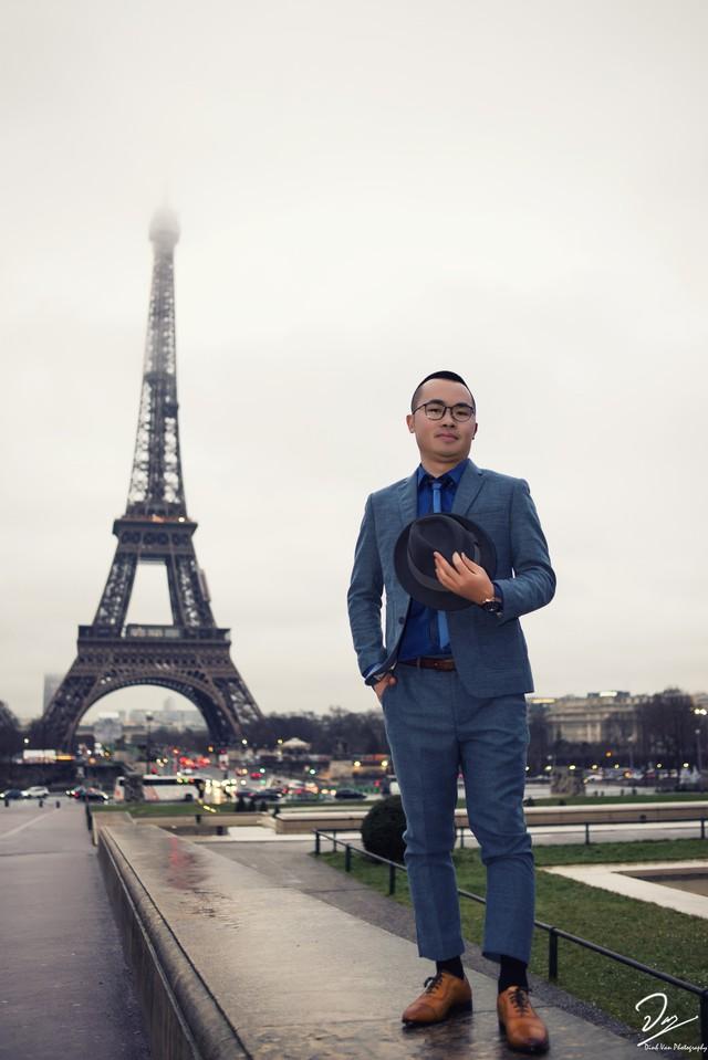TS Nguyễn Trung Thành trong lần trở lại nước Pháp vào dịp đầu năm 2018. Ảnh: NVCC