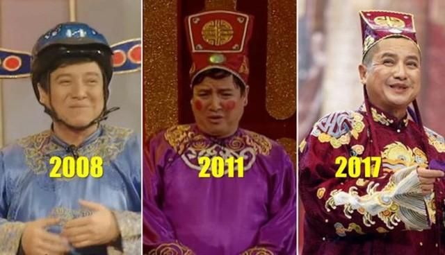 Trong hành trình 15 năm của Táo Quân, Chí Trung đã góp mặt đến 14 mùa.