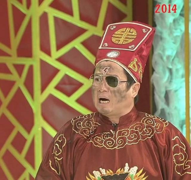 Trong số 14 năm tham gia, có 7 lần Chí Trung đóng vai Táo Giao Thông.