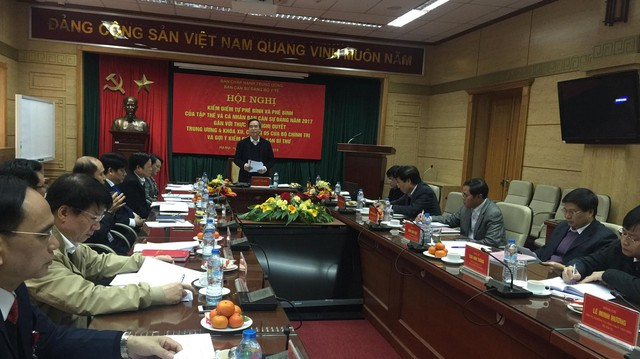 Đồng chí Nguyễn Văn Bình phát biểu chỉ đạo Hội nghị