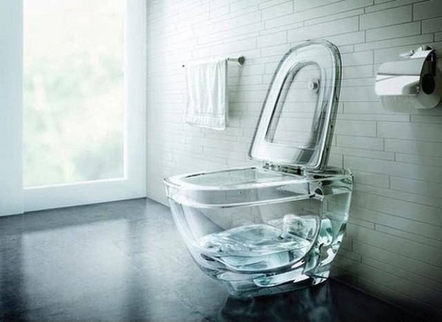 Nếu chỉ để nhìn nước bên trong thì không nói làm gì.