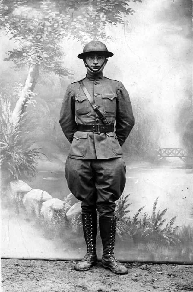 Bức ảnh chụp cựu Tổng thống Harry S. Truman ở Pháp trong Chiến tranh thế giới thứ I. (Ảnh: Thư viện Truman)