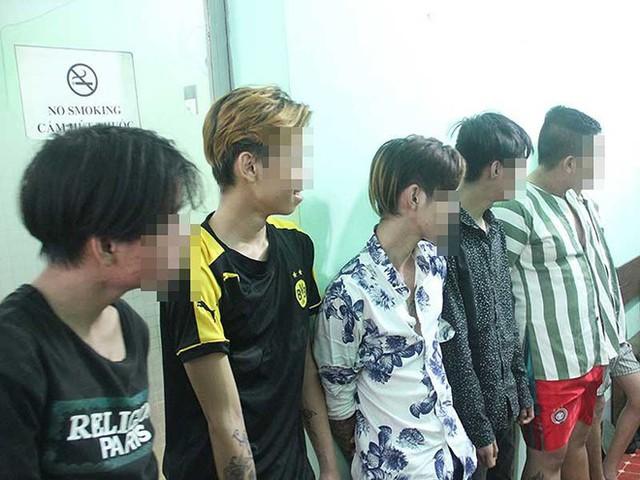 Nhóm cướp nhí bị Công an quận Bình Thạnh, TP.HCM bắt giữ.