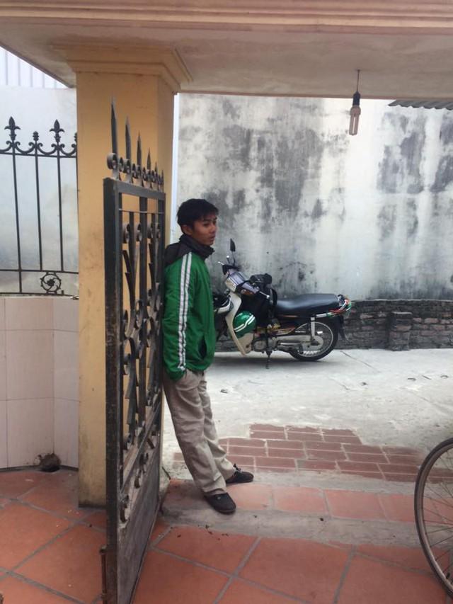 Một Grabbiker bị lừa đang thẫn thờ
