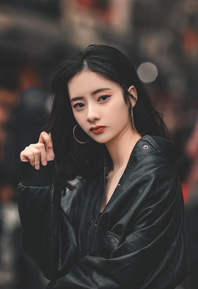 Nét cá tính của nữ sinh Quỳnh Anh.