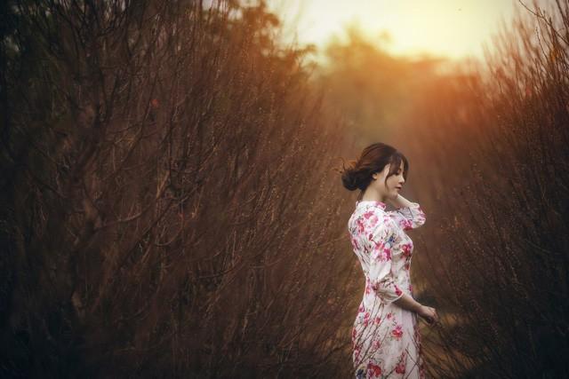 Ngọc Tuyết có niềm yêu thích chụp ảnh nên những bức ảnh rất cảm xúc, không có cảm giác gượng ép.