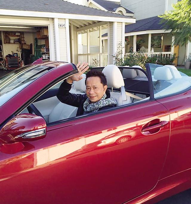Danh hài Bảo Chung và niềm đam mê xe hơi