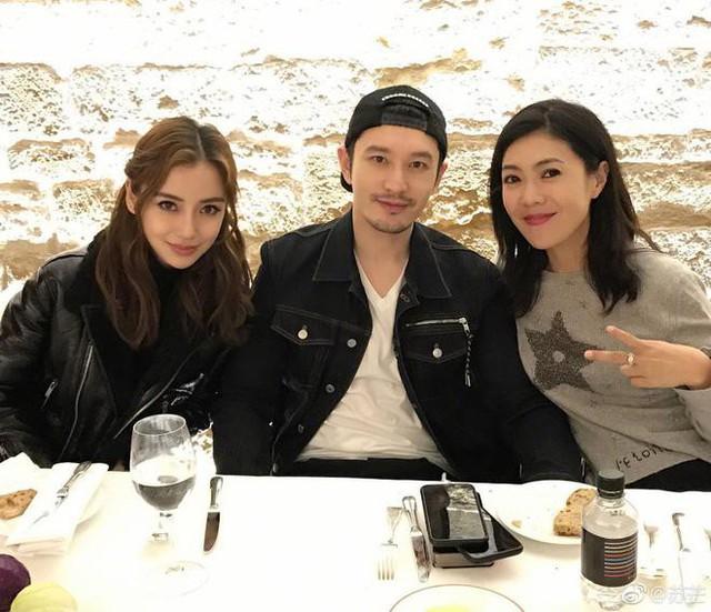 Huỳnh Hiểu Minh tổ chức sinh nhật cho Angelababy tại Pháp.
