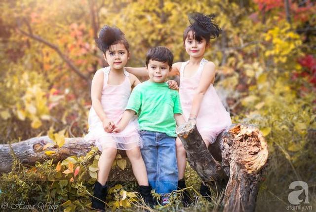 Ba thiên thần nhỏ.