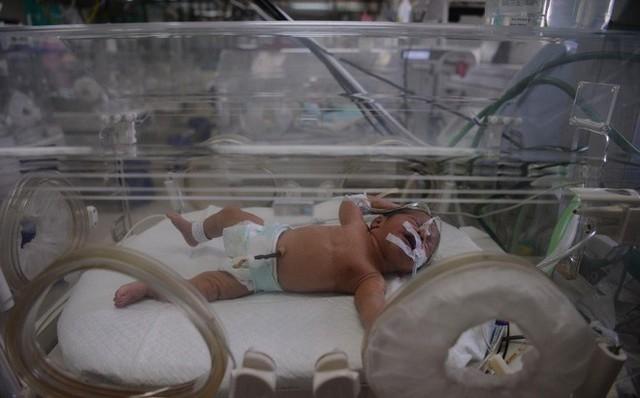 Bệnh viện đã tăng cường các biện pháp an ninh xung quanh trẻ. Ảnh: Getty