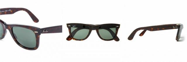 Ray-BanWayfarer Sunglasses: Nhiều nam giới lại thích những sản phẩm cổ điển như Ray-Ban Wayfarers. Kính mắt Ray-Ban được ưa chuộng lâu nay bởi thiết kế dễ phối đồ, đẹp nhất khi kết hợp với những trang phục đơn sắc.