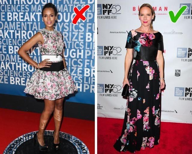 Chiếc váy bạn diện 10 năm trước đây không còn hợp với bạn nữa. Thay vào đó, bạn hãy chọn kiểu đầm in họa tiết hoa.