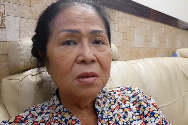 Bà Cúc không ngờ nữ Việt kiều Mỹ lại bắt cóc cháu mình: Ảnh: Lê Trai.