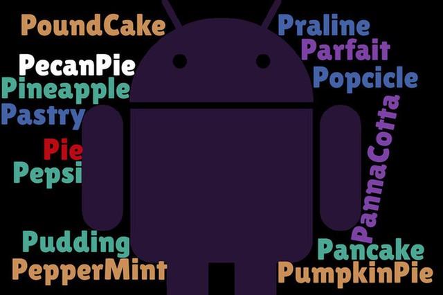 Tên chính thức của Android P vẫn là một bí ẩn.