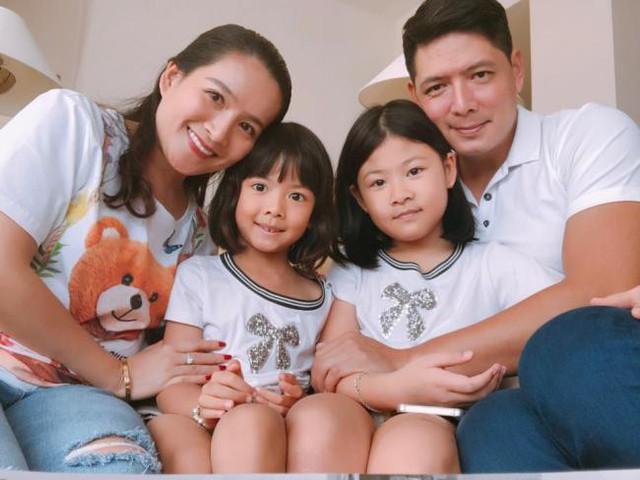 Gia đình nhỏ của Bình Minh - Anh Thơ.