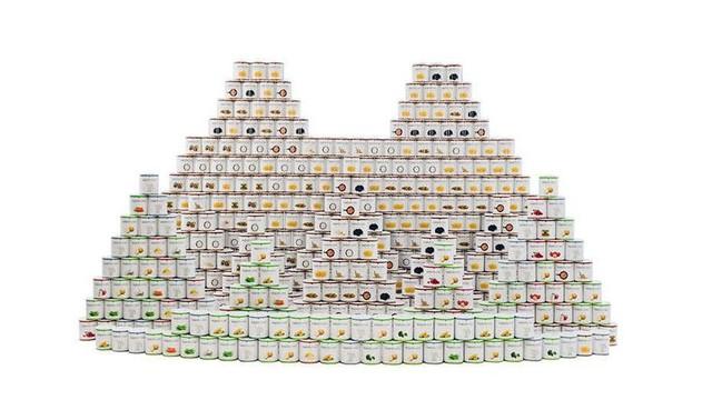 Bộ thực phẩm chuẩn bị cho ngày tận thế của Costco. Ảnh: Costco.