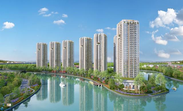 Gem Riverside thuộc phân khúc cao cấp đầu tiên do Tập đoàn Đất Xanh đầu tư và phát triển tại khu Đông